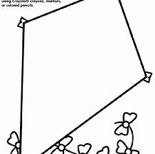 Free Printable Kite Template Free Kite Template Printable Kite Free Printable Kite Template Best