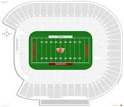 Dakota Seating Chart Actual Tcf Stadium Seating View South Dakota State Football