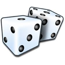 Games, dice, craps Free Icon of Refresh Cl Icons