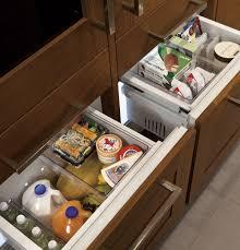 Glass Door Home Refrigerator Monogram 30 Integrated Glass Door Refrigerator For Single Or Dual