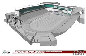 Plans And Sketches For New Wsu Football Facilities And