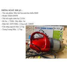 Máy hút bụi mini 2 chiều (Hút và thổi) Mini Vacuum Cleaner HDA