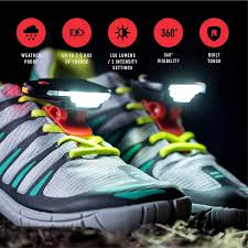 Air Balance Light Up Shoes Night Runner 270 Shoe Lights Rechargeable Waterproof Battery Light For Runners Dog Walking Hiking Best Safety Running Gear For High Visibility