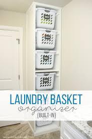 Diy laundry sorter Laundry Storage Diy Laundry Basket Organizer built In Make It And Love Make It And Love It Diy Laundry Basket Organizer u2026built In Make It And Love It