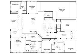 Plans For Bedroom Furniture 5 Bedroom House Floor Plans All New Home Design