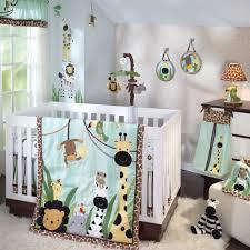 Peek a Boo Jungle Baby Crib Bedding by Lambs & Ivy