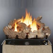 24 vent free log set with thermostat gld2450