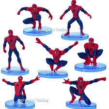 Spiderman Figurine Set Cake Toppe End 4172018 1015 Pm