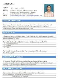 resume doc template