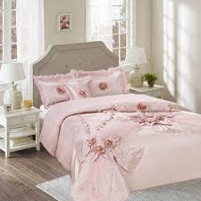 Raspberry Bedroom Tache 6 Piece Raspberry Macaroon Elegant Solid Pink Comforter Set