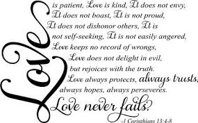 Love Is Patient Love Is Kind Quote Beauteous Bible Verse Love Is Patient And Kind Love Is Patient Love Is Kind