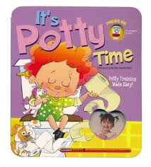 Its Potty Time For Girls Board Book