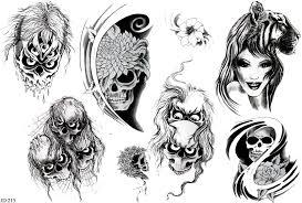 Motiv Tetování Lebky Atd 869