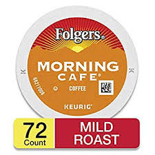 Folgers Coffee Chart