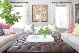 Living Room Ottomans Living Room Ottoman Ideas Ottoman For Living Room Brown Sofa