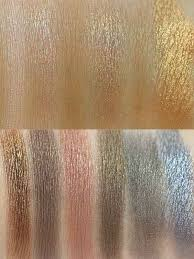 makeup revolution redemption palette iconic 1 swatches innenaussen