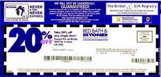 Bed Bath And Beyond 20 Off Entire Purchase Printable Coupon 2013