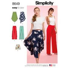 Simplicity Skirt Patterns Adorable Skirts Pants