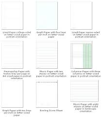 Lined Paper Word Ruled Paper Lined Paper Wide Ruled Ruled Paper Template Microsoft