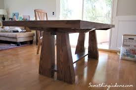 rustic dining table diy. diy dining table 2 rustic