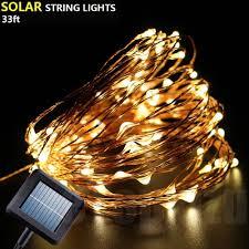Solar Led Copper Wire Lights Buy Outdoor Solar Copper Wire Lights Fairy String Etopxizu
