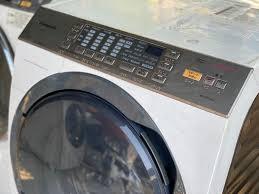Máy giặt nội địa PANASONIC NA-YVX530L giặt 9kg sấy 6kg DATE 2013