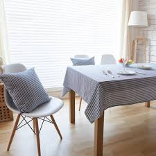 popular blue striped tableclothbuy cheap blue striped tablecloth