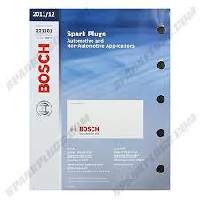 Bosch Spark Plug Catalog