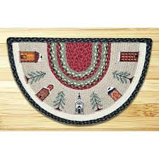 round rugs uk half circle braided accent with and more throughout designs 1 winter village circle rugs ikea semi