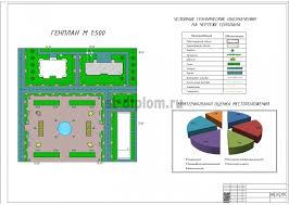 Диплом ЭУН Управление проектом реконструкции ти этажного дома в  2 Генплан