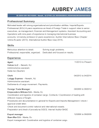 Best Foreign Trade Manager Resumes Resumehelp