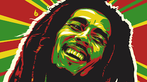 bob marley abstract 4k