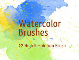 free watercolor brushes illustrator 30 sets of watercolor free brushes for photoshop designmodo