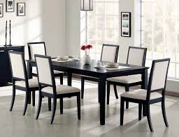 Louise Transitional Black Rectangular Dining Table Coaster Fine