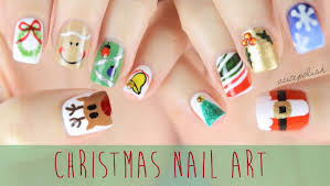 Beautiful Christmas Nail Art Ideas, Designs