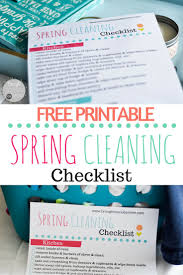 quick cleaning tips brought to you by mom food family travel spring cleaning checklist printable get cleaning these ideas to spring clean your home