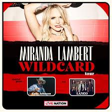 Miranda Lambert Seating Chart Miranda Lambert Budweiser Gardens
