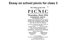 essay on school picnic for class google docs