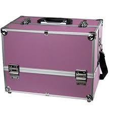 makeup train case professional 14 large make up artist organizer kit shoulder bag