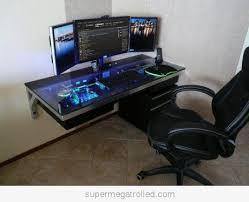 Cool Computer Desks on Cool Computer Case Desk On We Heart It Visual  Bookmark 24738286
