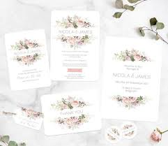 wedding invitation wording when to