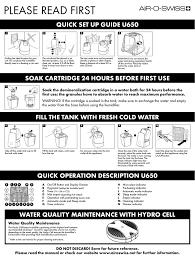 Air O Swiss Reset Clean Light Air O Swiss U650 User Manual Manualzz Com