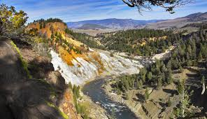 grand canyon of the yellowstone in autumn