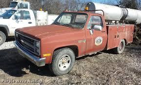 1985 Chevrolet 20 utility bed pickup truck | Item EI9756 | S...