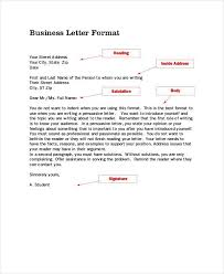 Traditional Business Letter Format News