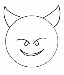 A heart shaded completely black. Free Printable Emoji Coloring Pages