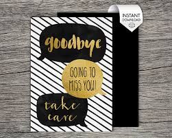 printable goodbye cards printable farewell goodbye card goodbye going to miss