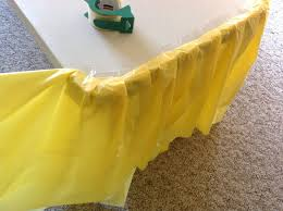 table covers ideas brilliant how to make a fancy ruffle cloth from dollar throughout 16