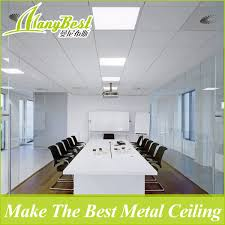 Image Square Feet Foshan Manybest Building Material Co Ltd hot Item Fireproof Aluminum Clipin False Ceiling Design For Office