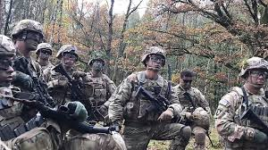 Us Army Platoon U S Army Soldiers Conduct Platoon Live Fire Exercise In Germany